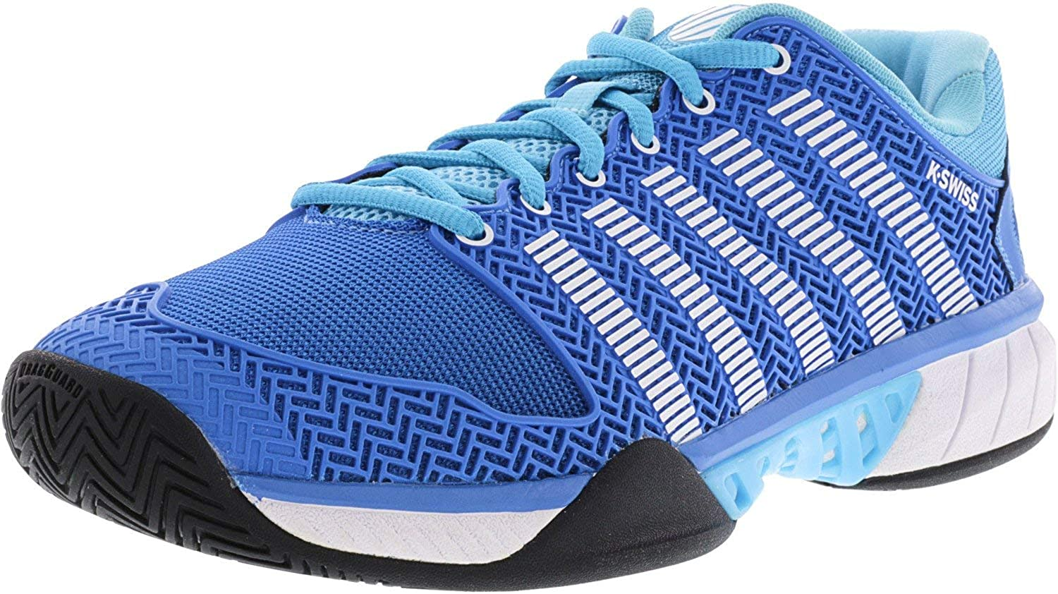 Women`s HyperCourt Express Tennis shoes bluee Aster and White