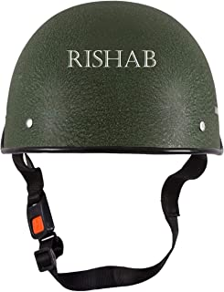 SARTE All Purpose Safety Helmet with Strap (R-Green)