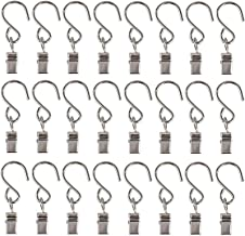 Restartgo Party Light Hanger Outdoor Lights Clips Party Supplies Apply to Edison String Lights Outdoor Hooks Courtyards Camping Tents Christmas Decoration Accessories(30 Pack)