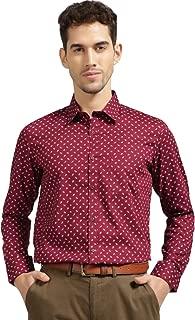 Knighthood  by FBB Men's Plain Slim Fit Formal Shirt