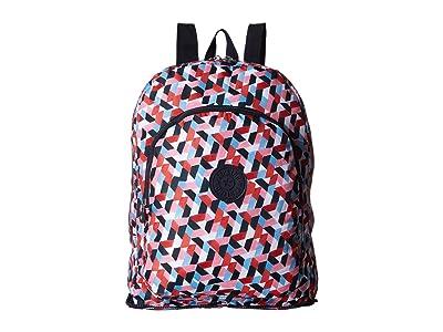 Kipling Earnest Packable Backpack (Forever Tiles) Backpack Bags