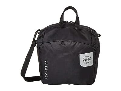 Herschel Supply Co. Ultralight Crossbody (Black) Cross Body Handbags