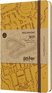Moleskine Limited Edition Harry Potter 12 Month 2019 Daily Planner, Hard Cover, Large (5