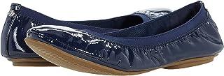حذاء باليه مسطح مصنوع من قماش Bandolino, (كحلي), 36 EU