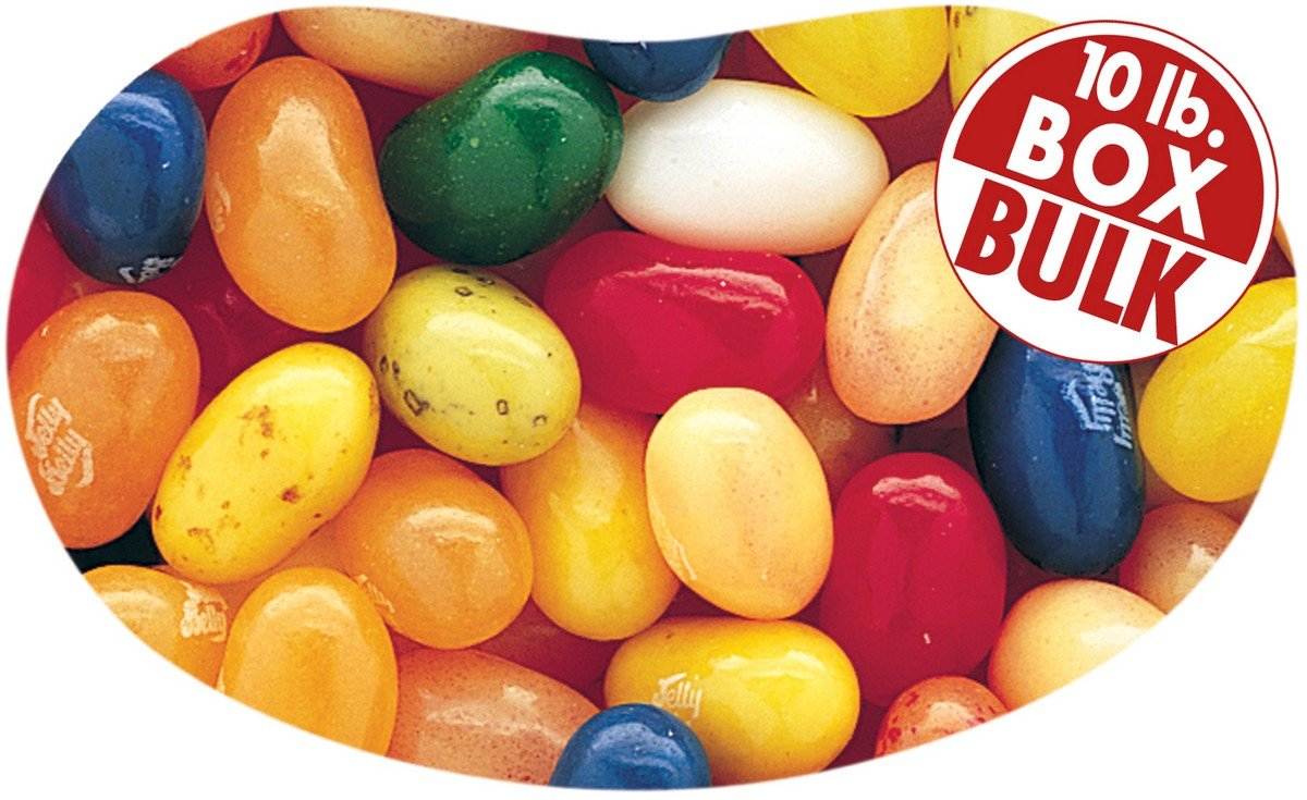 Jelly Belly Fruit Bowl Mix Beans Loose 10 San Jose Mall Superior of Pounds - Bulk