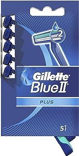Gillette Blue II jednorazowa maszynka do golenia Plus Sensitive - 5 szt