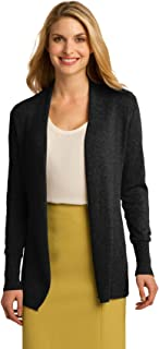 port authority open front cardigan