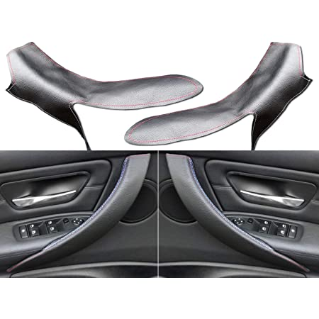 CHROME SIDE EXTERIOR DOOR HANDLE COVERS TRIM for  BMW F32 F33 F34 4 SERIES 13-on