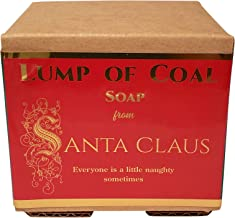 WFG WATERFALL GLEN SOAP COMPANY, LLC, Lump of Coal soap from Santa with shea butter and charcoal