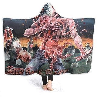 KarlMRush Cannibal Corpse Eaten Back to Life Blanket,Sofa Blanket,Super Soft,Suitable for All Seasons,Hooded Blanket