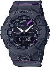 Casio G-Shock G-Squad Black & Purple Bluetooth Midsize Womens Watch GMAB800-8A