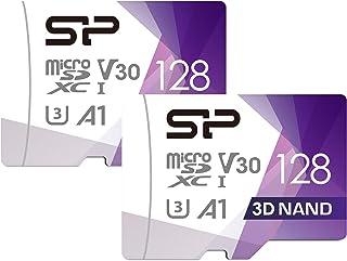 Silicon Power 2-Pack U3 128GB Micro SD Card Nintendo-Switch Compatible, SDXC microsdxc High Speed Class 10 MicroSD Memory ...