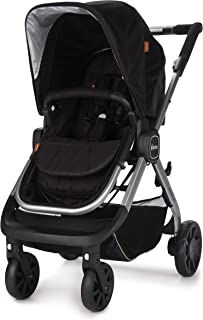 Diono Quantum, 3-in-1 Luxury Stroller, Black