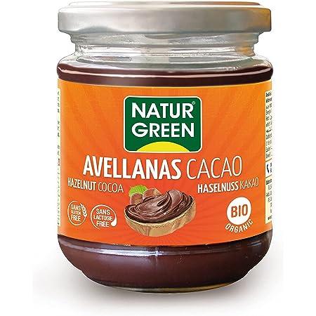 NaturGreen - Crema de Cacao y Avellanas Bio, Crema untable ...