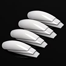 Best white long coffin nails Reviews