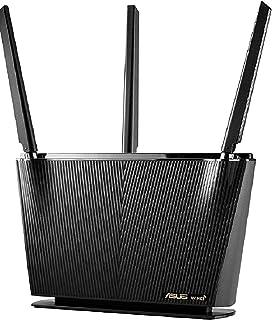 RT-AX68U Dual Band WiFi6 AX2700 Smart Router,InstantGuard VPN,Parental Control 2.0, Mesh WiFi Support, OFDMA + MU-MIMO tec...