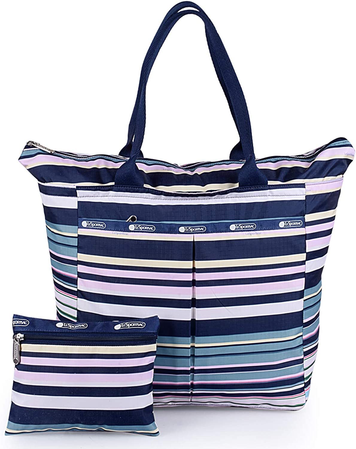 LeSportsac EveryGirl Tote, Beach Stripe