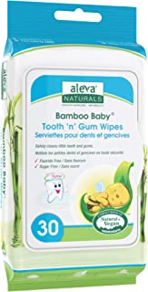 Aleva Naturals Aleva Natural Bamboo Baby Tooth 'n' Gum Wipes- 30ct, 30 Count