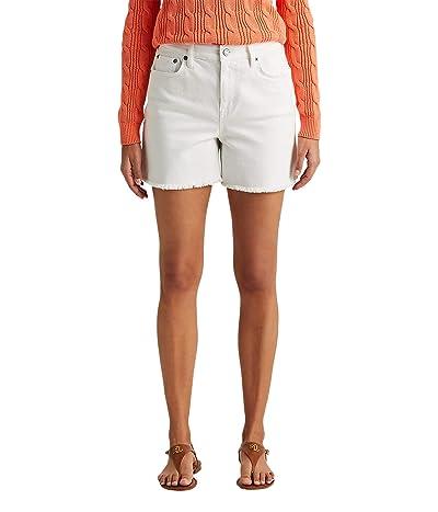 LAUREN Ralph Lauren High-Rise Denim Shorts Women