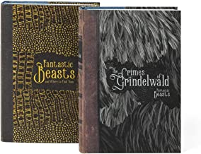 Juniper Books Fantastic Beasts and Where to Find Them | Two-Volume Hardcover Book Set with Custom Designed Dust Jackets | Author J.K. Rowling