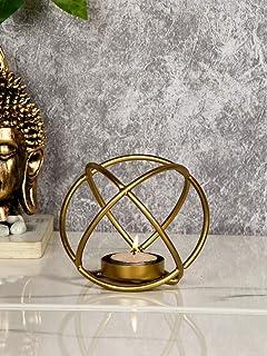 CraftVatika Nordic Geometric Candle Holders Tealight Candle Holder/ Candle Stand/ Candles Tea Light Holder Decorative Item...