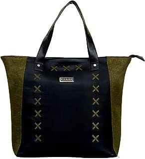 Pinkish Leatherette Handbags For Women's Ladies PK-Daily-014 PK-06 Multi-Coloured