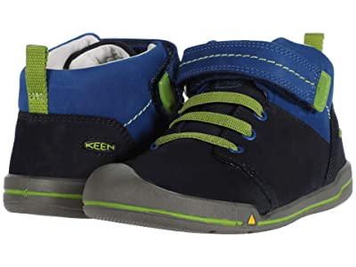 Keen Kids Sprout Mid (Toddler) (Dress Blues/Classic Blue) Boy