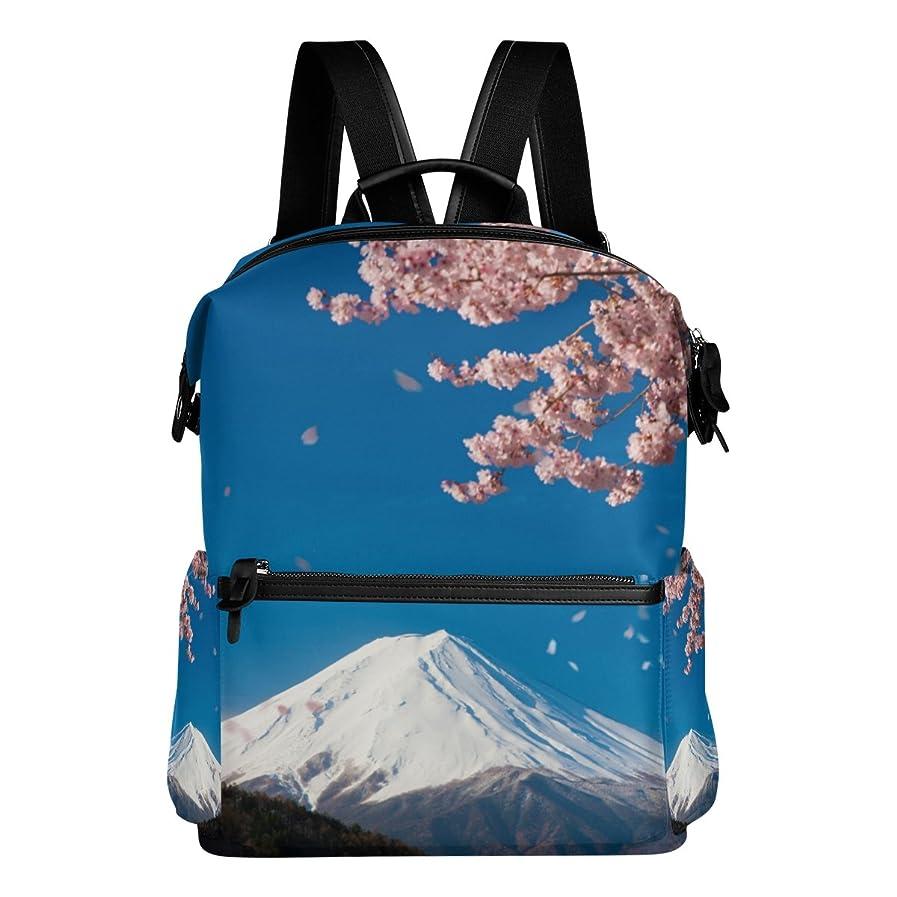 役員贅沢審判AOMOKI リュック リュックサック メンズ レディース 男女兼用 通勤 通学 大容量 さくら 富士山