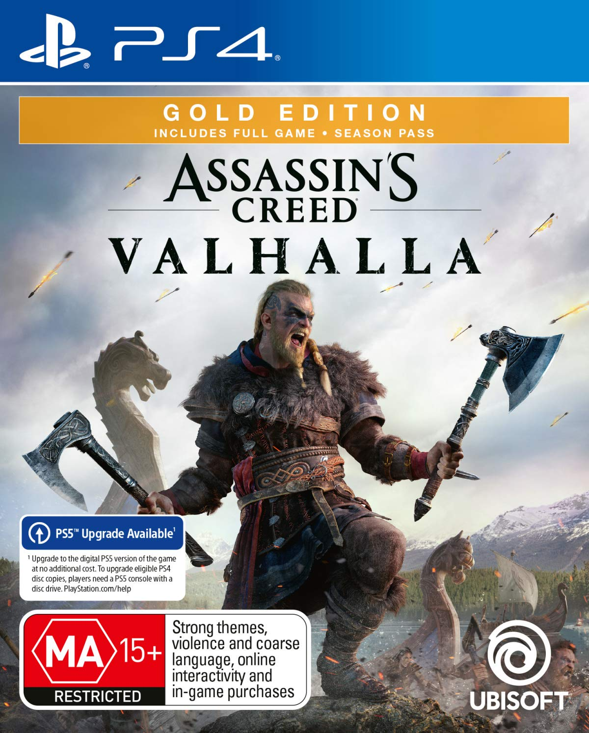 Assassin S Creed Valhalla Gold Edition Playstation 4 Amazon Com Au Video Games