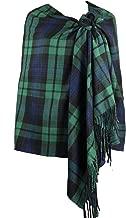 Achillea Long & Wide Scottish Clan Tartan Plaid Cashmere Feel Shawl Wrap Winter Warm Scarf 80