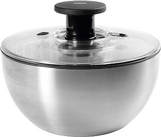 OXO Good Grips Salad Spinner 6-2/74-Quart Stainless Steel 1071497