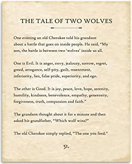 Best tale of two wolves print Reviews