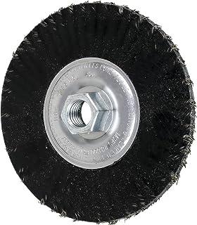 6 Diameter 12,500 RPM INOX Pack of 10 Stainless Steel Wire PFERD 82763 Combitwist Threaded Knot Wheel Brush 5//8-11 Thread Size