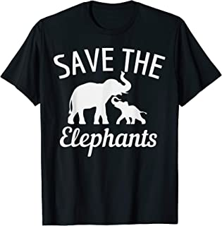 Best save the elephants shirt Reviews