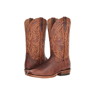 Ariat Bronc Stomper (Dusted Brown/Maverick Mud) Cowboy Boots