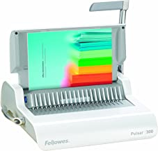 FEL5006801 - Fellowes Pulsar+ 300 Manual Comb Binding Machine