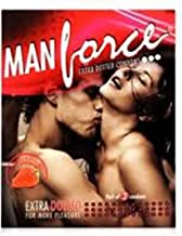 Manforce Strawberry Dotted Condoms (Pack Of 50)
