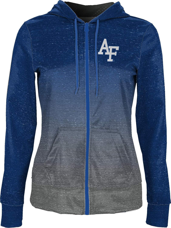 ProSphere U.S. Air Force Academy Girls' Zipper Hoodie, School Spirit Sweatshirt (Ombre)
