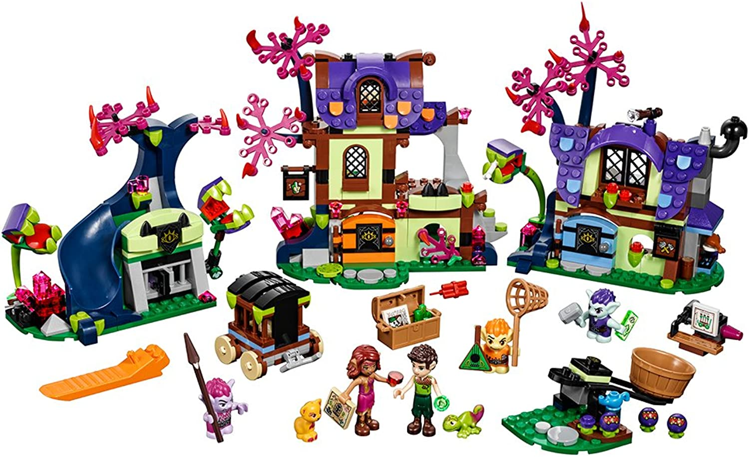 LEGO Elves - Magic Rescue from The Goblin Village [41185 - 637 Pieces]