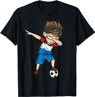 Dabbing Soccer Boy Netherlands Jersey Shirt - Dutch Football