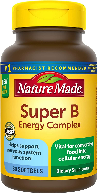 Nature Made Super B Energy Dietary Phoenix Mall Supplement Nervo Complex for Super-cheap