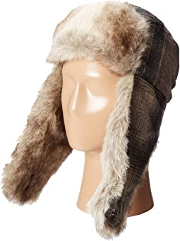 Woolrich Wool Aviator with Faux Fur Lining and Earflaps