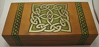 Celtic Knot Design Polish Wooden Keepsake Box
