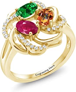 gold mothers rings