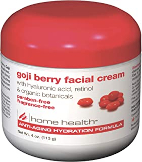 Home Health Goji Berry Facial Cream - Moisturizing And Anti-Aging Formula, Reduces Appearance Of Wrinkles, Protects, Hydra...