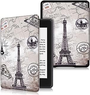 Vikisda Kindle Paperwhite 2018 ケース カバー 高級感PUレザー 超軽量 薄型 傷つけ防止 耐衝撃 Kindle Paperwhite Newモデル 第10世代 2018 ケース