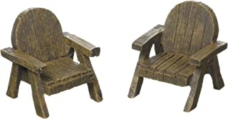 Hi-Line Gift Ltd Fairy Garden Lawn Chairs