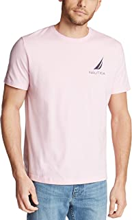 Nautica Men's Short Sleeve 100% Cotton Fish Print Series Graphic Tee Shirt