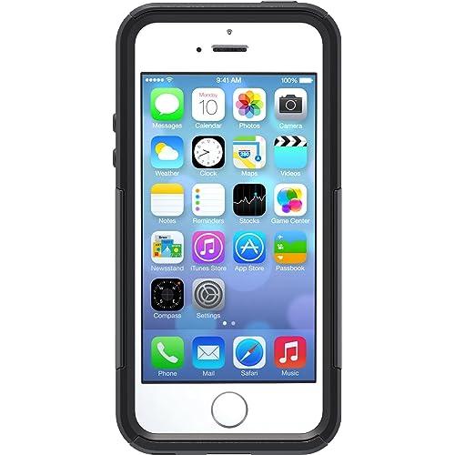 51ae7de38d09d2 OtterBox COMMUTER SERIES Case for iPhone 5/5s/SE - Retail Packaging - BLACK