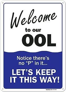 welcome to usa sign